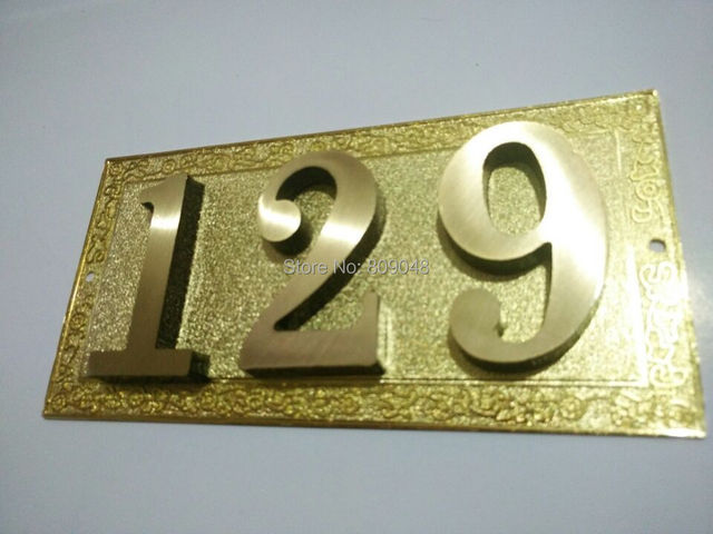 2015new house number /Hotel room /Guest house number/free shipping ...