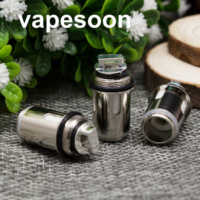 Original VapeSoon Replacement Coil For Vape Pen 22 Tank 0 3ohm Nicr Material Coil Head 20pcs