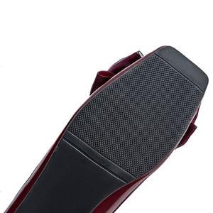 Image 5 - BEYARNENew 2019 אופנה נעלי נשים שטוח העקב רך אחת נעלי פרפר קשר אלגנטי נשים של דירות גבירותיי מותג בתוספת SizeE170