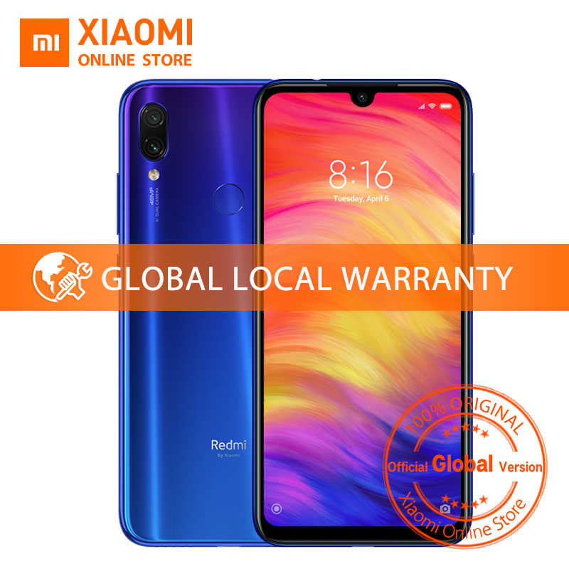 "Глобальная версия Xiaomi Redmi Note 7 4 Гб 64 Гб сяоми редми нот 7 Смартфон Snapdragon 660 Octa Core 4000 мАч 6,3 ""2340*1080 48MP + 5MP мобильный телефон"
