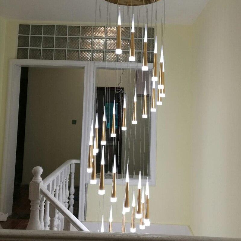 10 Best Of Modern Stairwell Pendant Lighting: Modern LED Pendant Lights Stairwells Suspended Luminaires