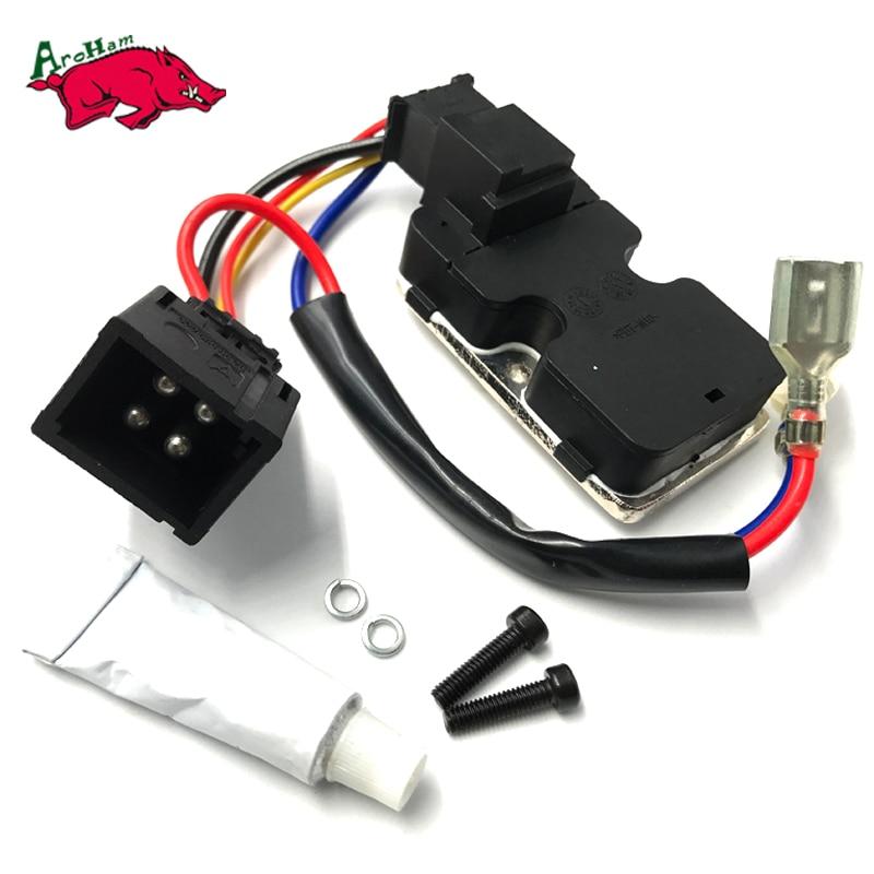 Harbll AC Blower Heater Fan Motor Resistor Regulator For Benz S Class W140 92 99 S500