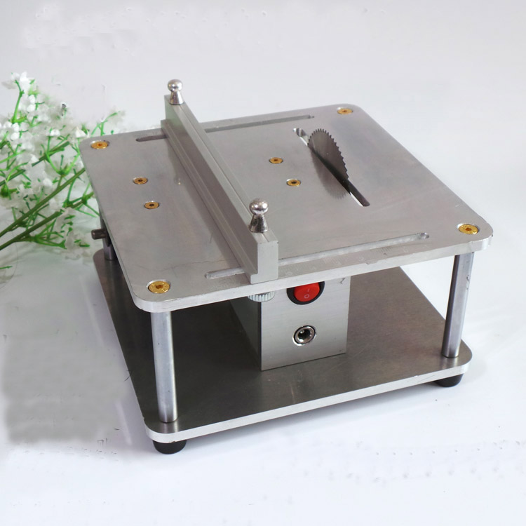 Precision Miniature Table Saw DIY Cutter Cutting machine for Model making
