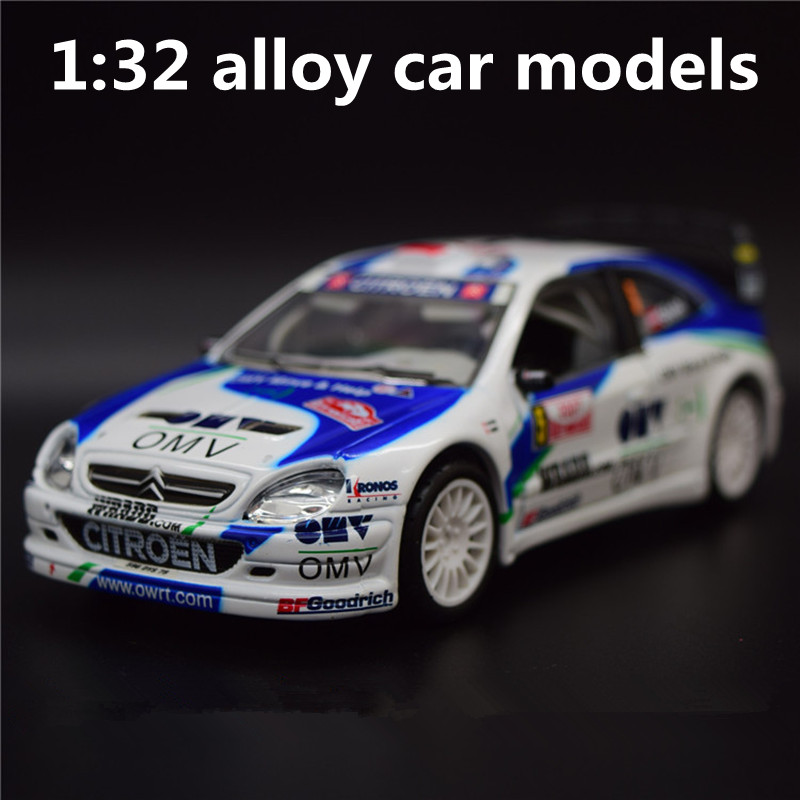 1:32 Alloy Car Models,metal Diecasts Toy Vehicles,high Simulation Citroen Rally Racer,two Open The Door,free Shipping