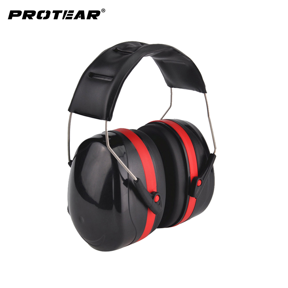 NEW Anti-noise Earmuffs Ear Protector Outdoor Hunting Shooting Sleep Soundproof Ear Muff factory learn Mute Ear protection soundproof earplugs 3m soft foam earmuffs anti noise earplug ear protector hearing protection peltor ear plugs for sleep