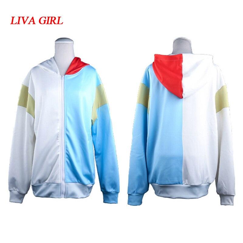 My Hero Academia Boku no Hero Academia Cosplay Costumes Midoriya Izuku Bakugou Katsuki Todoroki Thin Sweatshirt Hoodie Jackets