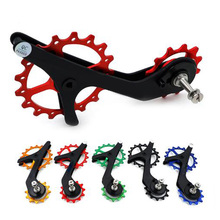 17T Bicycle Ceramic Bearing Carbon fiber Jockey Pulley Wheel Set Rear Derailleurs Guide Wheel for 9100 9150 R8000 R8050