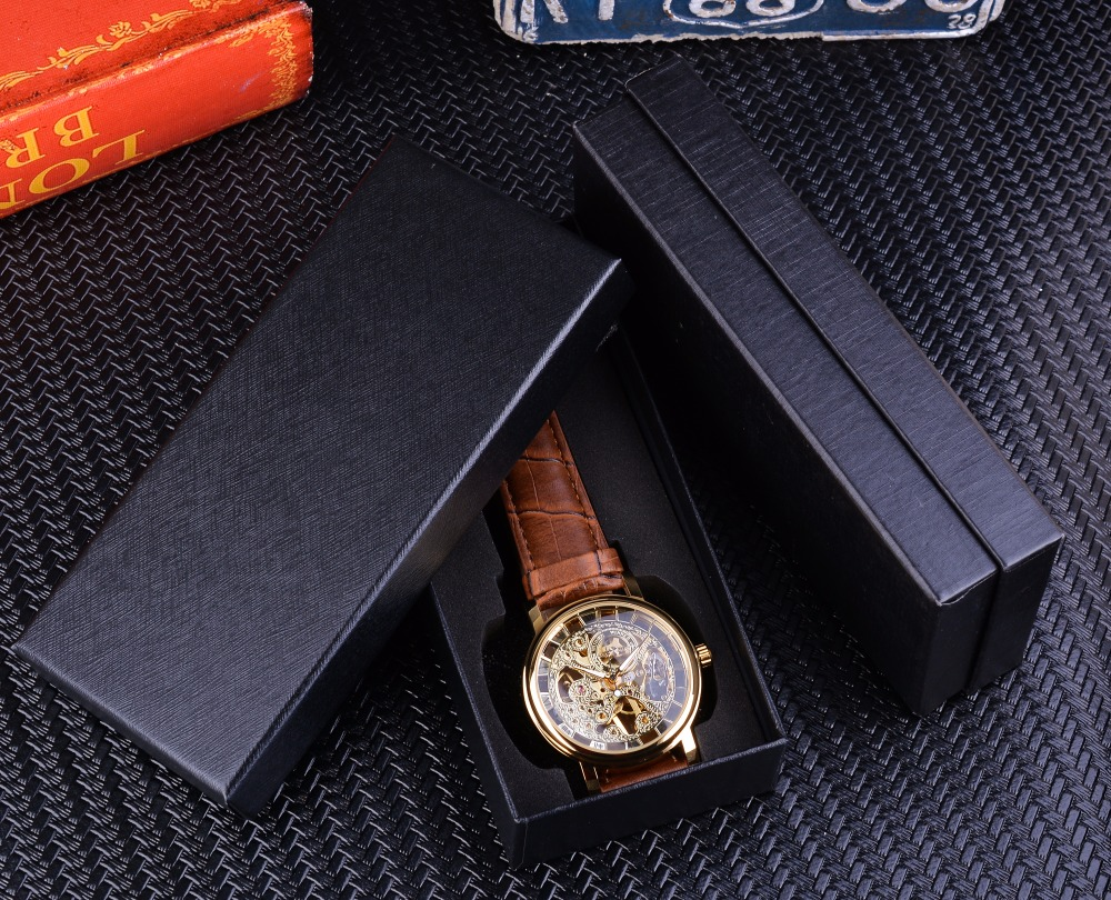 HTB1p56LnZnI8KJjSsziq6z8QpXaW Winner Transparent Golden Case Luxury Casual Design Brown Leather Strap Mens Watches Top Brand Luxury Mechanical Skeleton Watch