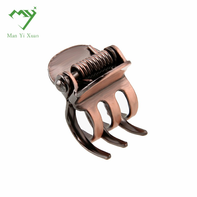 5pcs/lot antique copper Small Mini Hair Clip Claw Clamp Retro Hairpin Jewelry Hair Accessories For Women Metal Hair Ornaments lysumduoe headband black hairpin women clip s shape barrette girl hairgrip hairgrips children hairpins jewelry hair accessories