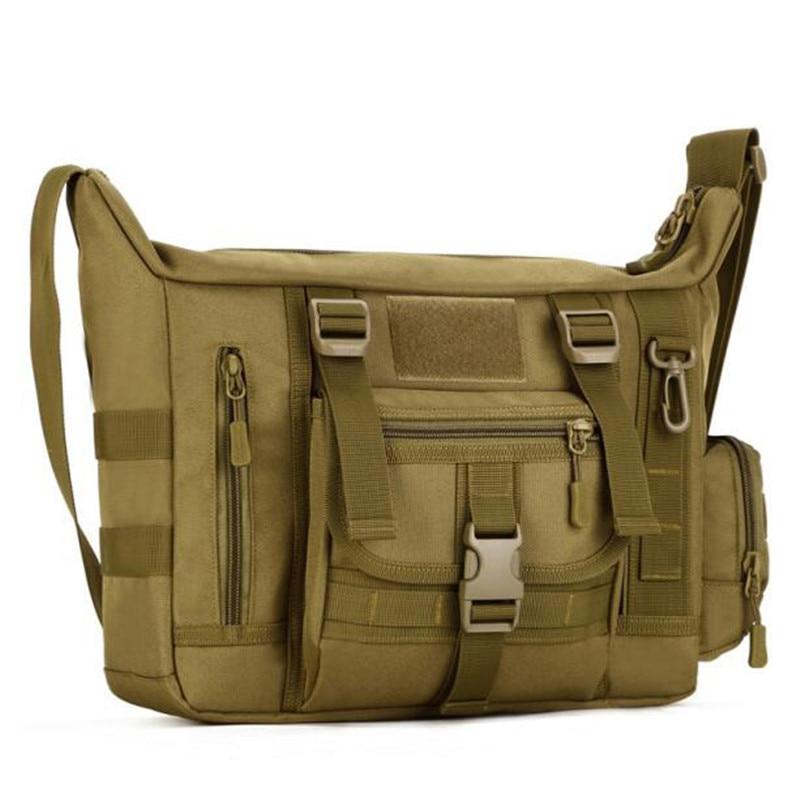 الرجل الجديد على ظهره العسكرية للماء 1680 د ماء النايلون حقيبة ذات قدرة عالية حزمة 14 بوصة حقائب الكتف مسطحة