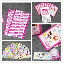 100pcs Cute Cartoon Waterproof Breathable Band Aid Hemostasis Adhesive Bandages First Emergency Kit For Kids Children