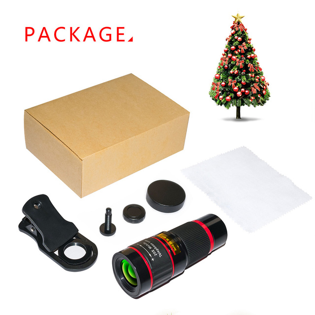 20X Zoom Telephoto Lens HD Monocular Telescope Phone Camera Lens for iPhone 11 Xs Max XR X 8 7 Plus Android Smartphone Mobile 6