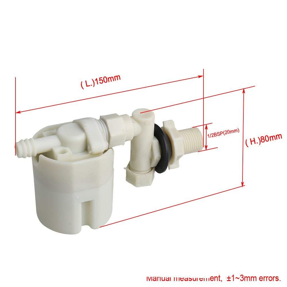 """1 """"bsp Automatische Wasser Level Control Einlass Ventil Turm Wasser Tank Float Ventil Für Wc Seite Installation"""