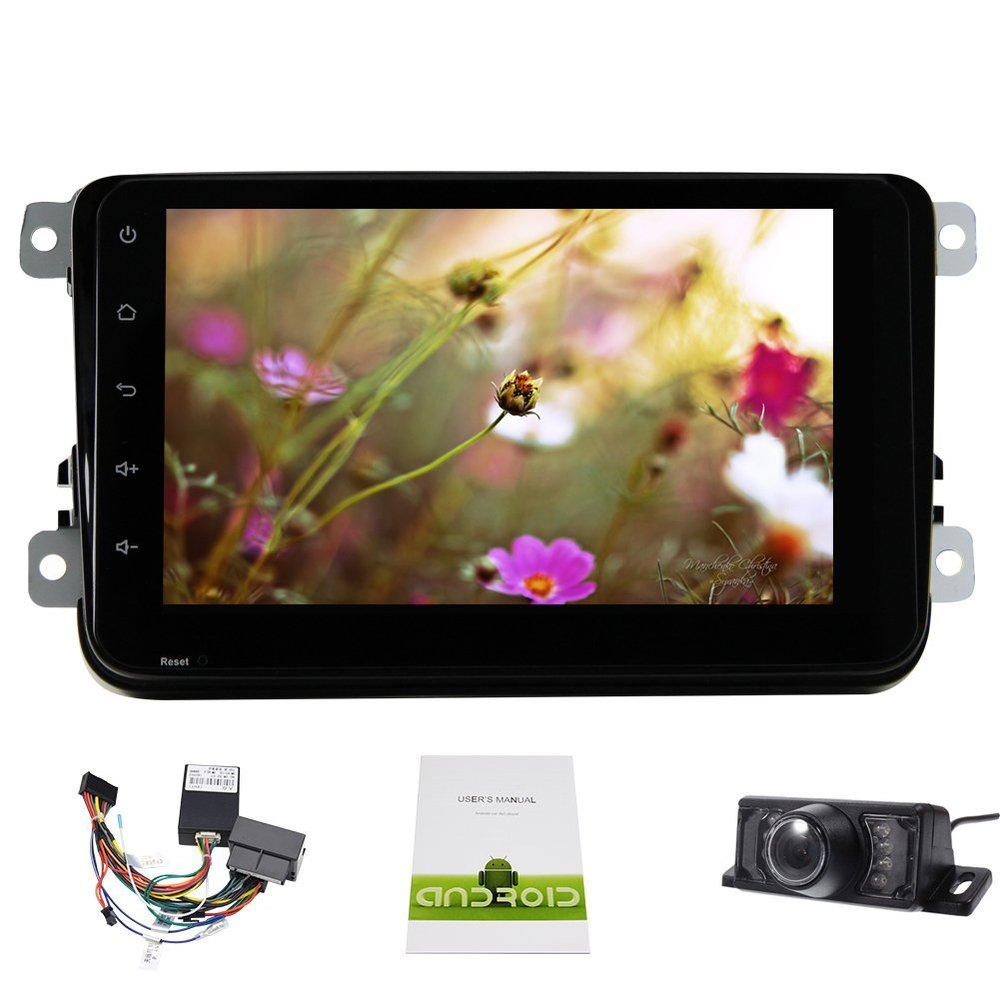 1G RAM Quad Core Android 4 4 Car DVD GPS FOR VW GOLF 5 6 POLO