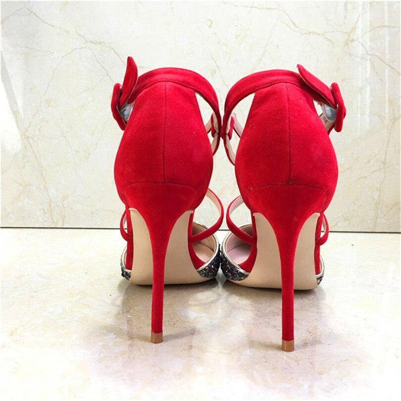 2019 Steinmeier 10cm Talons D'été Boucle 12cm Chaussures Sandales WEHD29I