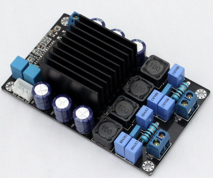 цена на YJ TP2050 Amp Class D Amplifier 50W +50 W Stereo Digital audio Amplifier Board Free Shipping