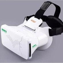 Ritech III VR 3D Gafas Gafas de Realidad Virtual RIEM3 Smartphone 3 D Cabeza de Vídeo Montaje de Cartón para 4.0-6.0 Pulgadas Del Teléfono Móvil