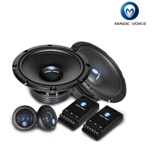 1 pair tweeter and 1 pair woofer 1 pair and 1 pair cross over 6.5 inch Car Speaker 2-way component kit Car HIFI MC-C652 au pair