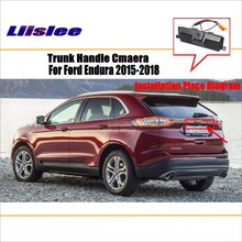Liislee Car Reverse Rear View Camera For Ford Endura 2015~2018 Trunk Handle / HD CCD Backup Parking
