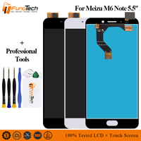 For Original assembly Meizu M6 Note Touch Screen Digitizer + LCD Display For Meizu m6 Note
