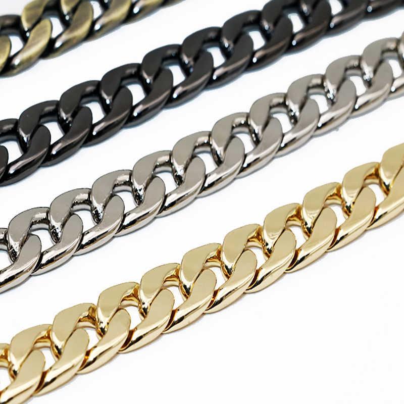 120 centímetros Cadeia de Acessórios para Sacos Cintas Cinto Para Cintos de Acessórios de Peças de Saco Sacos de Cadeias de Ouro Acessórios de Hardware Para A Bolsa