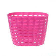 Bicycle Basket Hollow Children Bike Tricycle Scooter Storage Front Handlebar Plastic Carrier Cycling Kids Riding Shopping