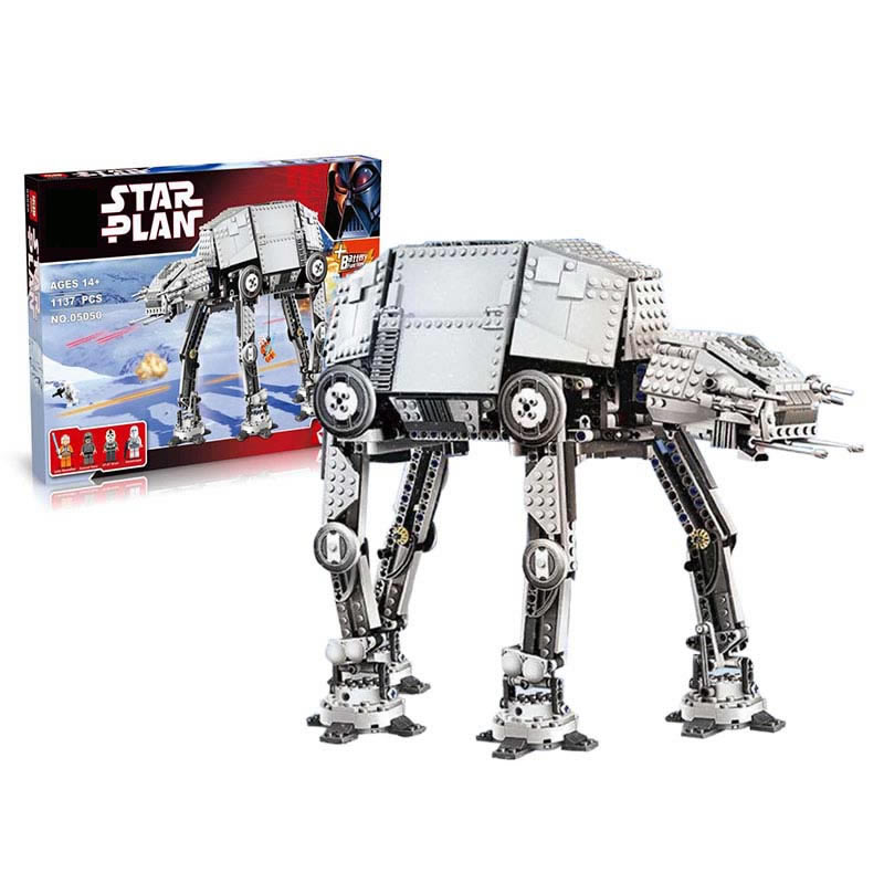 Star Wars Motorized Walking DIY Building Brick Toys Boys Toys Gift Same as 10178 star wars boys black