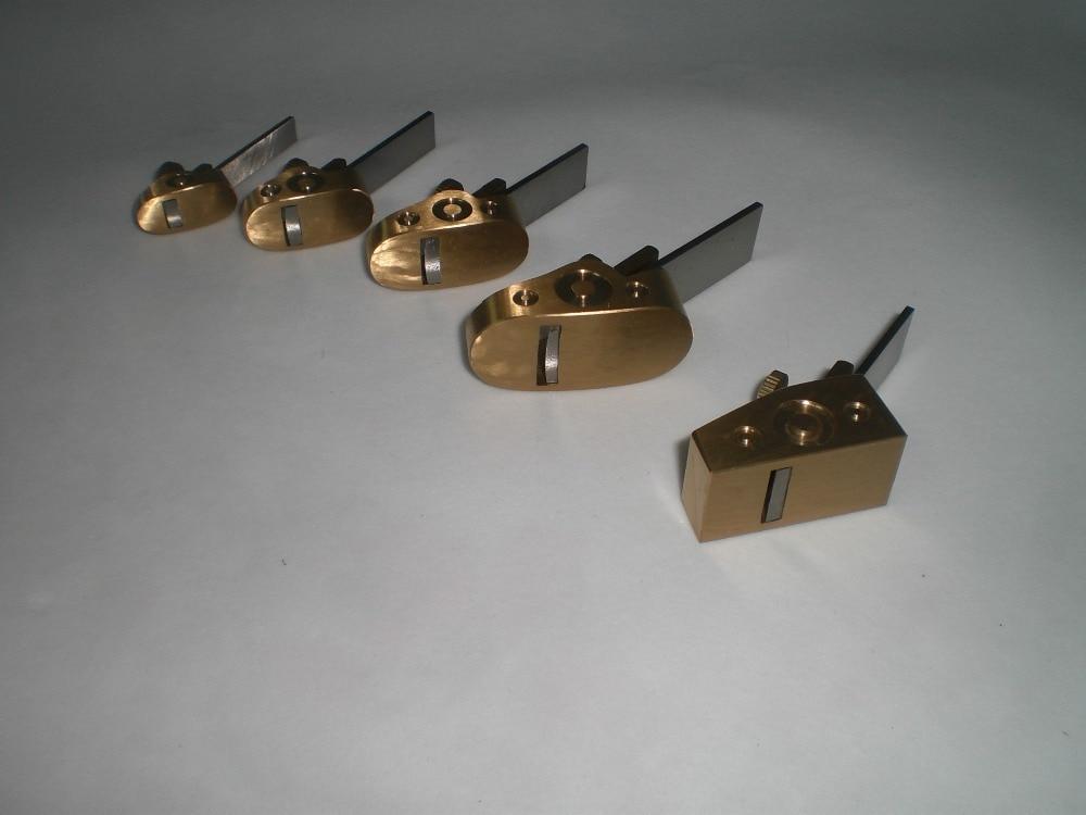 5pcs Brass Mini Finger Planos, herramientas para hacer violines, - Instrumentos musicales - foto 2
