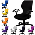 Modern Computer Chair Cover Lycra Spandex Stretch Seat bag for Office Home Company chair cover with armrest decoration wholesale