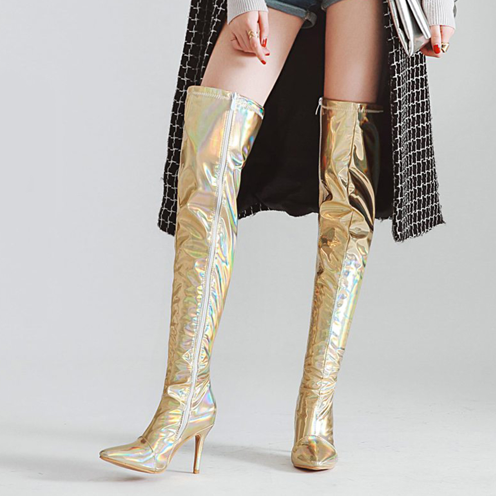 DoraTasia big Size 30-48 brand new wholesale party prom Women Shoes boots woman Sexy thin High Heel Winter over the knee BootsDoraTasia big Size 30-48 brand new wholesale party prom Women Shoes boots woman Sexy thin High Heel Winter over the knee Boots