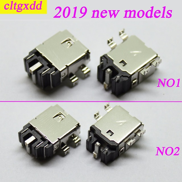 cltgxdd 2019 new coming for ASUS DC power jack socket connectors 4.0*1.1MM 8 feet for laptop main board DC jack