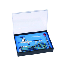 Dual Action Airbrush Spray Gun Air Compressor Kit Art Painting Tattoo Manicure Craft Cake Spray Model Air Brush Nail Tool Set