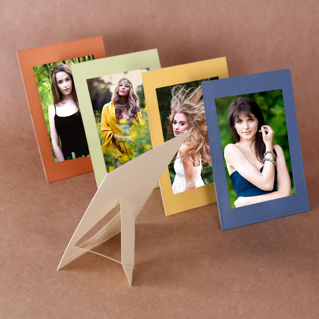 20pcsset Multicolor Paper Photo Frame Cheap Picture Frames Telaio
