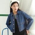 Womens jackets coats 2017 New fashion jeans Jackets Denim Women slim cotton solid Jacket for women Outerwear Coats ladies jacket