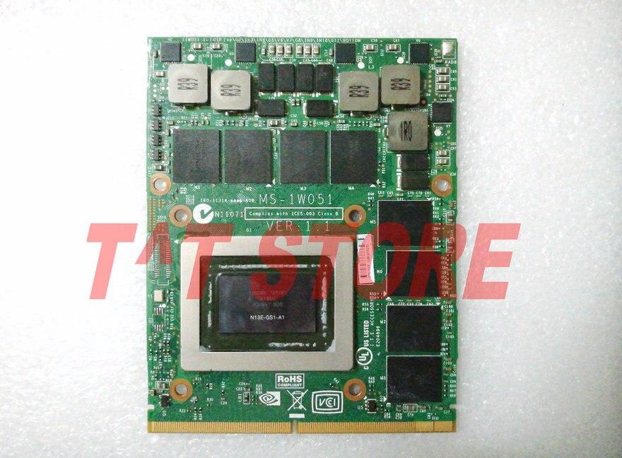 MS-1W051 VER: 1.1 GTX 675 m 2 gb PER MSI GT70 GT60 GX660R GT660 GT680 GT683DX GT783DX GTX675M GDDR5 Video VGA SCHEDA n13E-GS1-A1