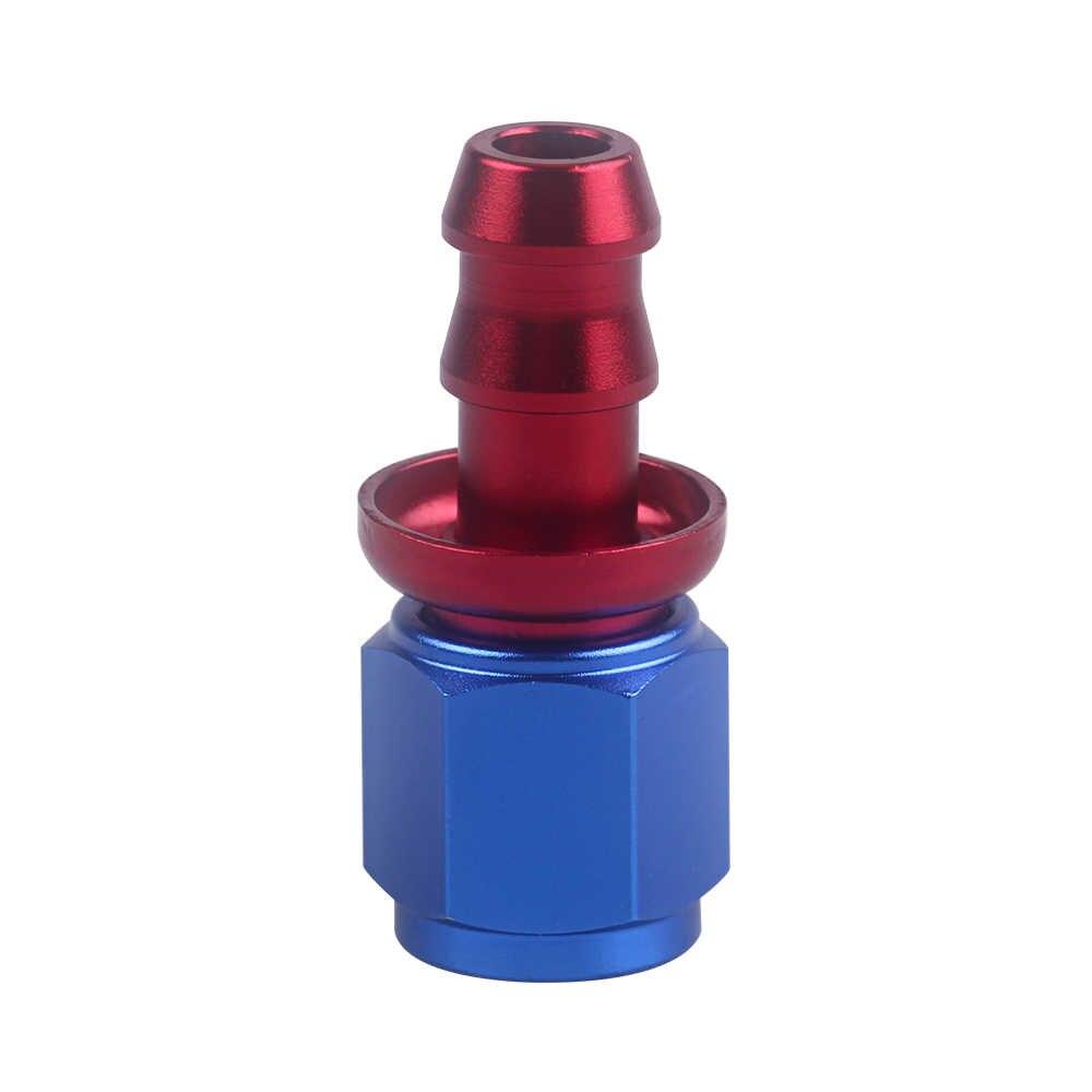Embout de tuyau de verrouillage AN6 embout de tuyau enfichable 0/45/90/180 degrés accessoires de voiture