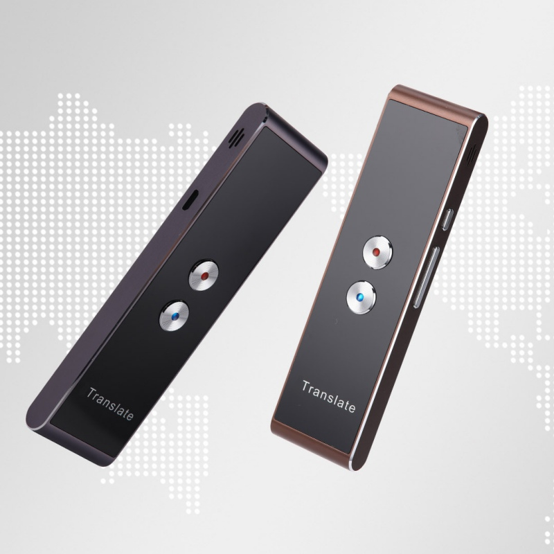 Traductor de voz inteligente T8 portátil de dos vías en tiempo Real 30 traducción en varios idiomas para aprender a viajar por negocios conocer