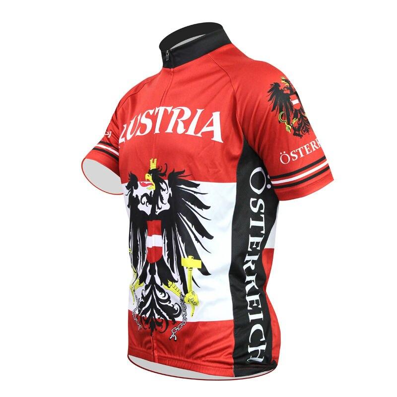 Alien SportsWear Αυστρία σημαία μοτίβο - Ποδηλασία - Φωτογραφία 3