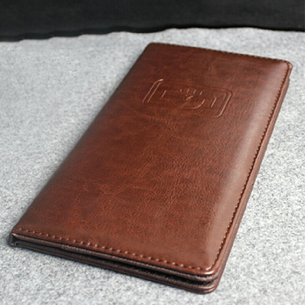 50 pcs/lot Genuine Leather Brown Color Menu Holder OEM Order From Japan Customer Leather Receipts rakesh singh effective customer orientation in salespeople evidences from india