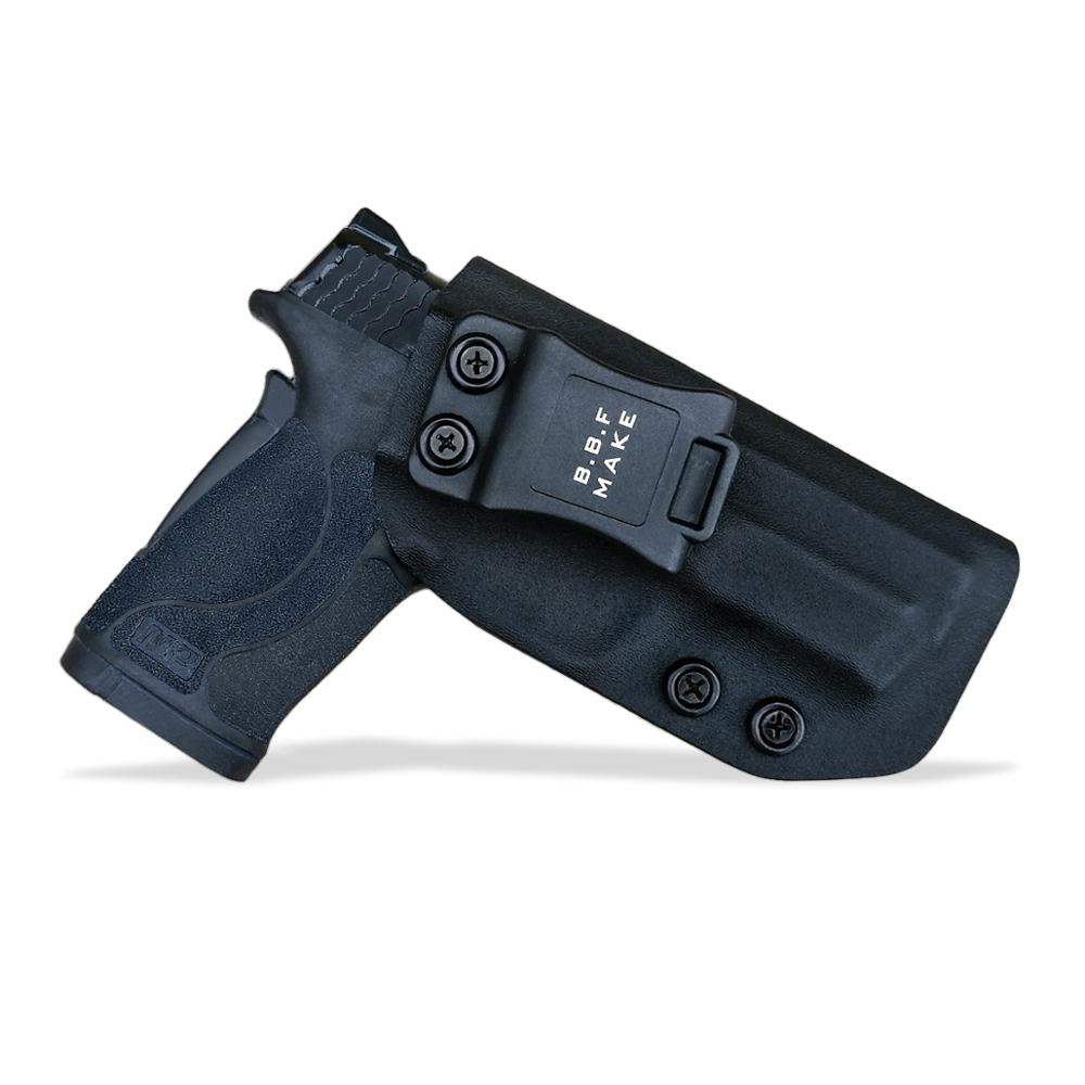 B.B.F Make IWB Tactical KYDEX Gun Holster Fits: S&W M&P 380 EZ Inside Concealed Carry Waist  Pistol Case