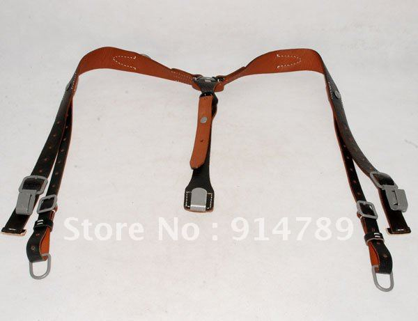 WW2 GERMAN ARMY LEATHER Y STRAP STRAPS Y STRAPS LOAD BEARING EQUIPMENT 32343