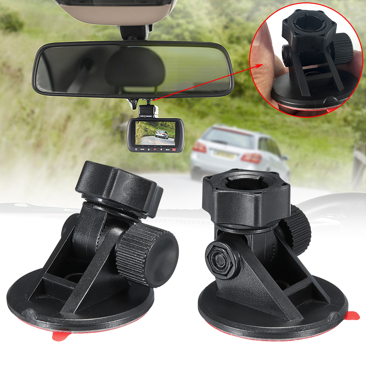 Adhesive Mount Holder for Nextbase Car GPS Dash Cam 112 212 312GW 412GW 512GW Car Roof DVR