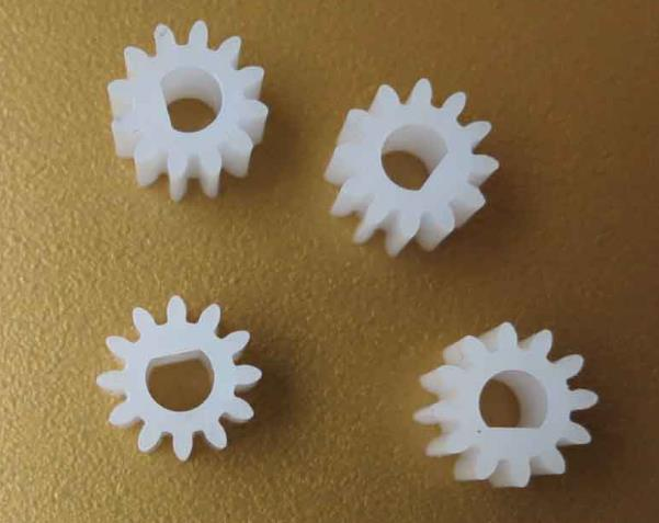 10pcs/lot 1012DF Gear 3mm D Hole 12 Teeth Plastic Gear External Gear Straight Gear