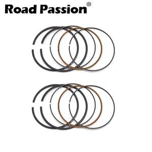 Motorcycle 64mm STD ~ 100 Piston Ring For Honda Steed SHADOW BROS 400 VLS400 VLX400 VRX400 NV400 NC25E NC26 NC34(China)