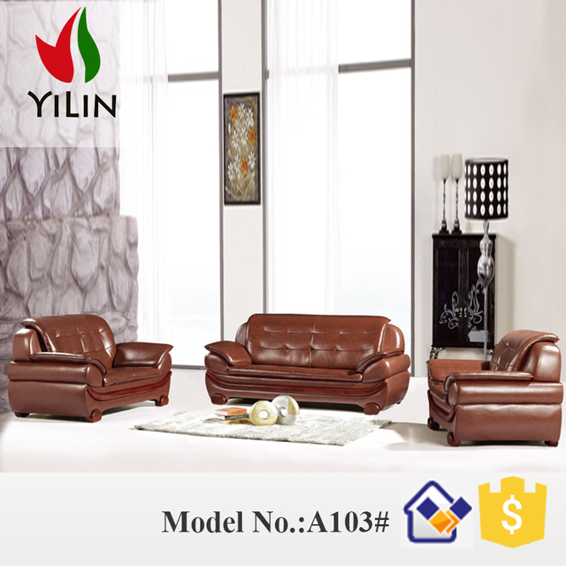 China Supply Dubai Style Antique Design Model Sofa Set 7 Seater Natuzzi Leather Sofaliving