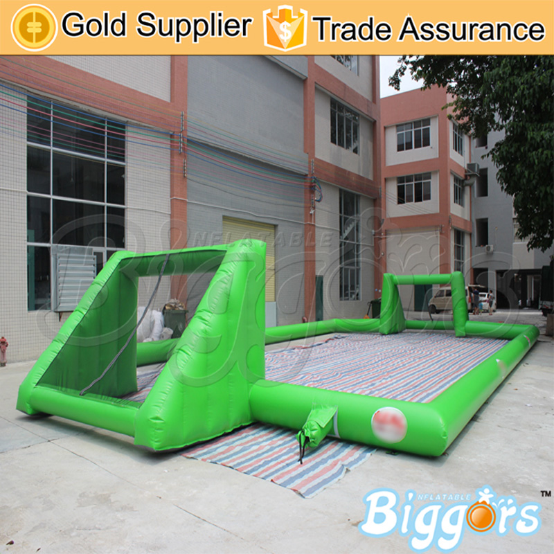 Commercial Use Blow Up Best Quality Inflatable Football Pitch Inflatable Soccer Sport Game Soccer Court free shipping ce certificated inflatable football pitch inflatable soccer court soapy stadium for sale