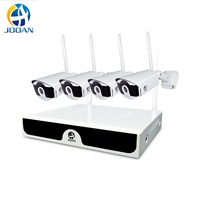 Jooan 4CH Array HD Home WiFi Wireless Security Camera System DVR Kit 1080P CCTV WIFI Outdoor Full HD NVR Surveillance Kit H.265