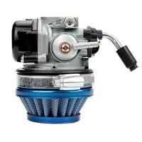 Ryby silnik gazowy rower z napędem Bike Racing Carb gaźnik filtr powietrza gaźniki dysze dla 37 50 80CC 2 suwowy silnik nowy w Zespoły oczyszczania powietrza od Samochody i motocykle na