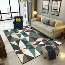 New Modern Soft Carpets For Living Room Bedroom Rugs Bedside Coffee Table Floor Mat Nordic style Geometric Carpet Home Area Rug simple modern thicken lamb velvet rug bedside bedroom soft carpets for living room decor carpet can custom home large area rugs