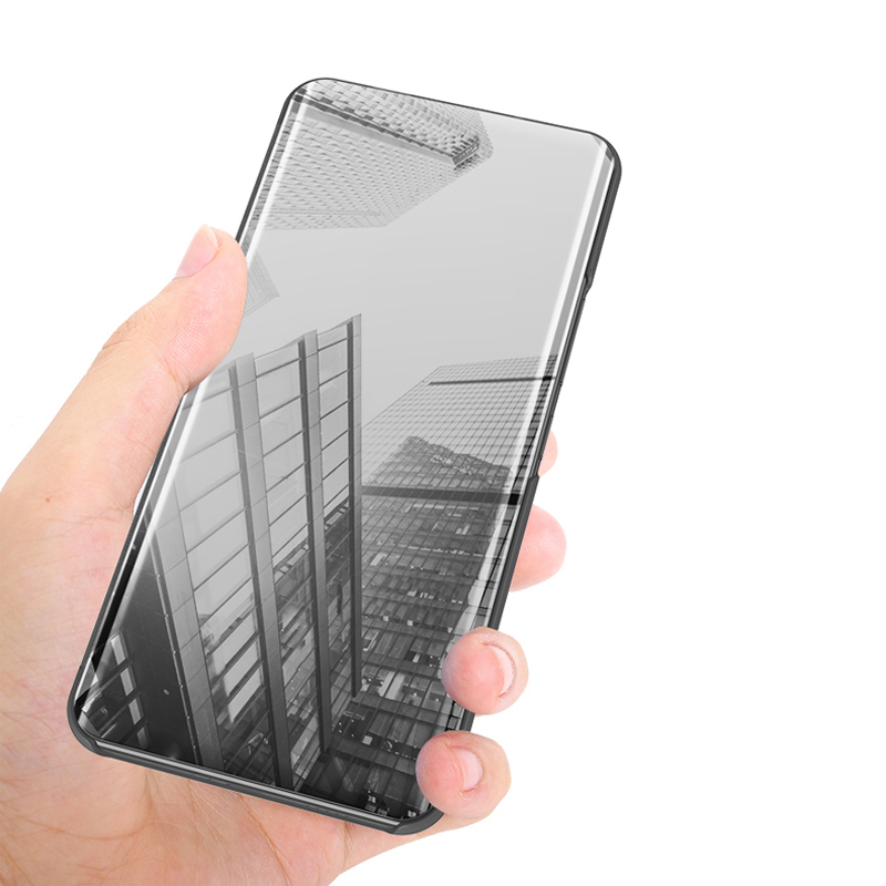 Smart Mirror View Case For Xiaomi Redmi 6A Luxury Flip Leather Full Cover For Xiaomi Redmi 6A Phone Case Couqe 5 45 quot in Flip Cases from Cellphones amp Telecommunications